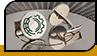 Manschettenknöpfe mit logo