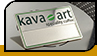 "Badge ""Kava art"""